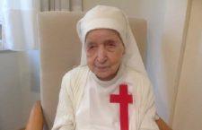 Suor Candida compie 110 anni: è una super festa (di amici, di fede, di preghiera!)