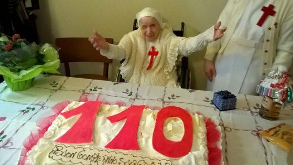 Il compleanno di Suor Candida raccontato con un amore grande per tutti, lungo 110 anni!