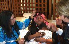 Dopo quattro mesi il commovente abbraccio tra Oumoh e la mamma