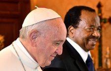 Papa Francesco riceve Paul Biya, presidente del Camerun
