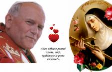 Giovanni Paolo II è stato uno dei più grandi sostenitori delle 'cause impossibili' di Santa Rita