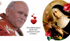 Giovanni Paolo II fu uno dei più grandi sostenitori delle 'cause impossibili' di Santa Rita