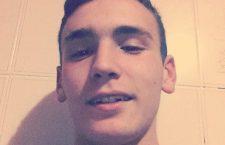 Emanuele Morganti, 20 anni, in una foto tratta dal profilo facebook. +++ATTENZIONE LA FOTO NON PUO' ESSERE PUBBLICATA O RIPRODOTTA SENZA L'AUTORIZZAZIONE DELLA FONTE DI ORIGINE CUI SI RINVIA +++
