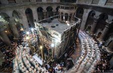 Il Santo Sepolcro restaurato torna luogo di preghiera ecumenica