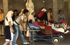 Miracolo a Lourdes: appena uscita dalle piscine non potevo credere che fosse accaduto proprio a me!