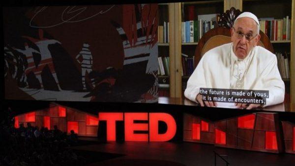 Papa Francescoal Ted2017: cambiamo il mondo con la rivoluzione della tenerezza