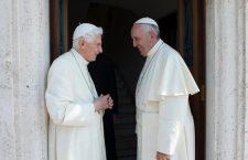 Nuova visita di Papa Francesco a Benedetto XVI per gli auguri di Pasqua e per il 90.mo compleanno