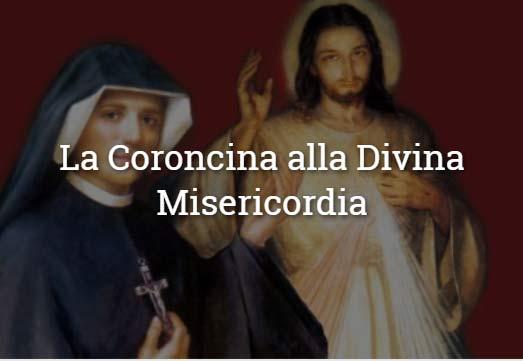 coroncina misericordia