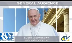 Udienza Generale con Papa Francesco. Mercoledì 26 aprile 2017 REPLAY TV