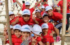 La corsa dei bambini palestinesi, siriani e libanesi per 'crescere insieme'