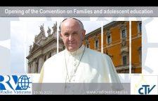 Papa Francesco apre il Convegno della Diocesi di Roma Lunedì 19 Giugno 2017 REPLAY TV