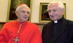 Da Joseph a Georg, strumentalizzazioni sui fratelli Ratzinger. Occorre fare chiarezza, i 'lupi' ci marciano