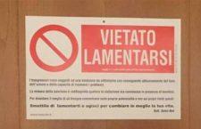 «Io, l'autore del cartello affisso da Papa Francesco»