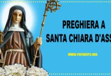 preghiera santa chiara