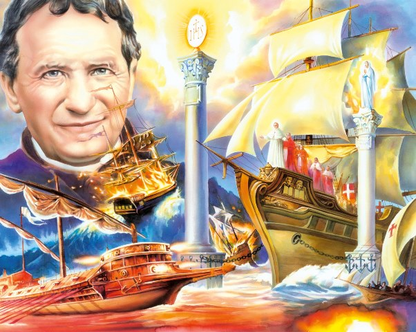 Don Bosco: The Dream Of The 'two Columns' Of Don Bosco Prophesies The