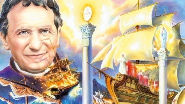 Quel sogno delle 'due colonne' di don Bosco che profetizza il trionfo del Cuore Immacolato di Maria