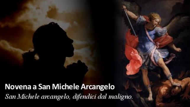 San Michele Arcangelo novena
