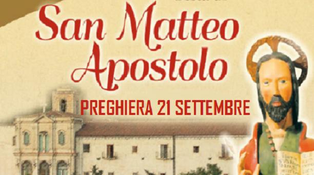 Preghiera potente a San Matteo