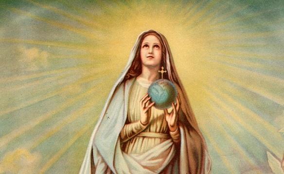 Ogni Giorno Una Lode a Maria, 31 dicembre 2020. Madonna del Globo, madre di tutta l'umanità