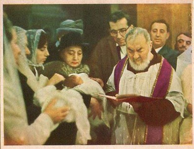 Padre Pio battesimo