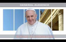 Udienza Generale con Papa Francesco. Mercoledì 25 Ottobre 2017 REPLAY TV