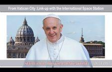 Collegamento di Papa Francesco con la stazione spaziale internazionale 26 Ottobre REPLAY TV