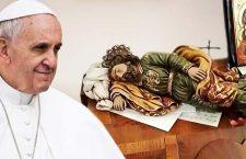 Ascolta Papa Francesco: San Giuseppe risolve i problemi mentre dormiamo. Si fa così