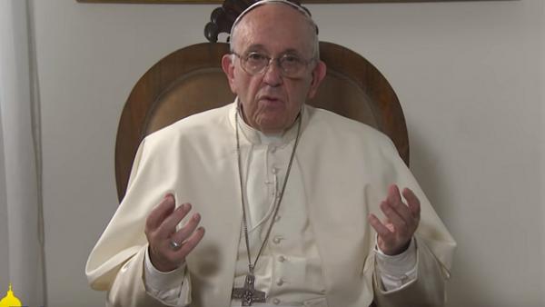 Video-messaggio di Papa Francesco ai giovani: Gesù vi invita ad andare verso di Lui