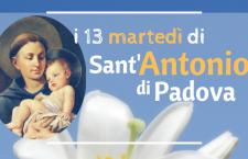 I 13 Martedì a Sant'Antonio da Padova – 9a settimana – Antonio intercessore presso Dio, prega per noi