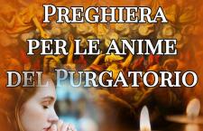 Anche stasera prima di dormire puoi recitare la santa Supplica per le anime del Purgatorio