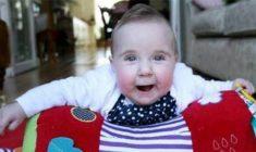 Clara, la bambina 'guarita' miracolosamente da leucemia e Sindrome di Down