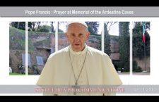 Preghiera di Papa Francesco al Sacrario delle Fosse Ardeatine – 2 novembre – REPLAY TV