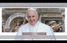 Intervento di Papa Francesco contro le armi nucleari – Venerdì 10 Novembre – REPLAY TV