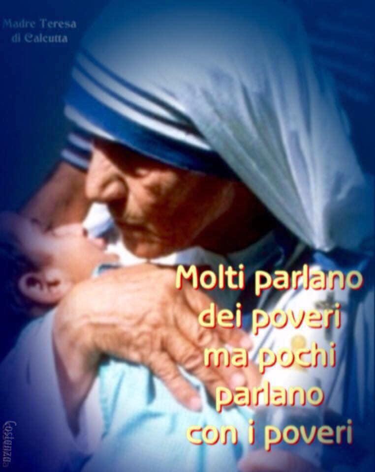 E Natale Ogni Volta Che Questa Poesia Di Madre Teresa Di Calcutta