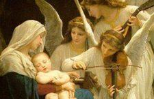 Santi Angeli e Arcangeli di Dio, pregate per noi in questa notte e donateci la pace di Gesù