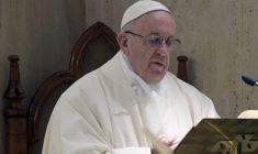 Papa Francesco nella Messa a S. Marta ci parla in profondità della tenerezza di Dio
