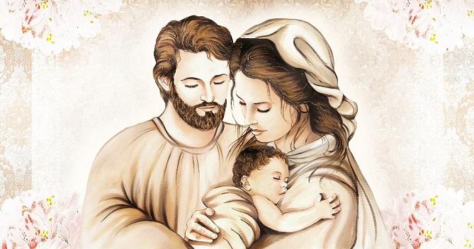 sacra famiglia contro il diavolo