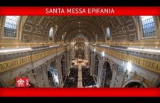S. Messa di Papa Francesco per l'Epifania del Signore Sabato 6 gennaio 2018 REPLAY TV