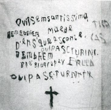 Fazzoletto frasi di sangue di Natuzza Evolo