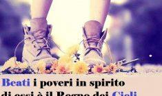 Beati i poveri in spirito, perché di essi è il regno dei cieli. Preghiamo con il Salmo di oggi