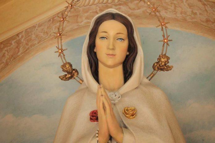 rosa mistica preghiera della sera