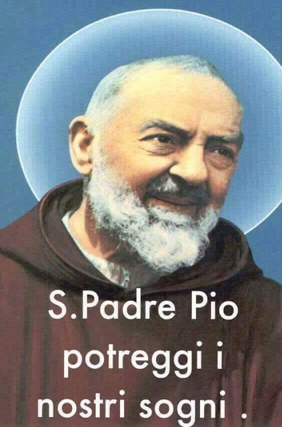 Padre Pio benedizione