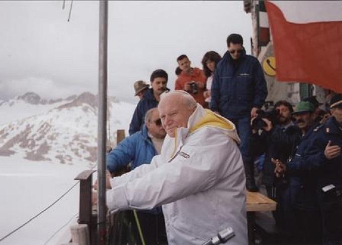 Io, in vacanza con Giovanni Paolo II