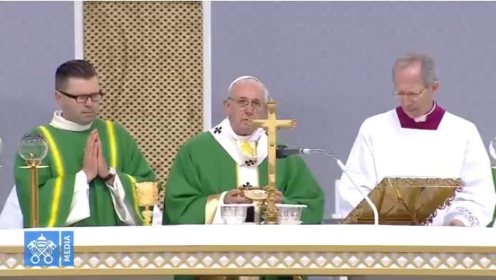 Papa Francesco è a Kaunas