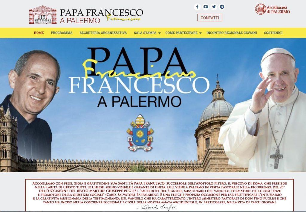 Papa Francesco Palermo