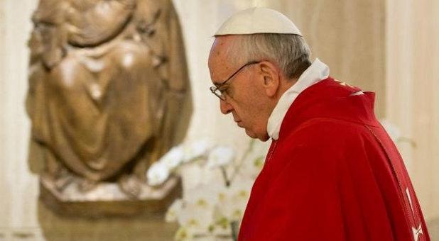 Papa Francesco esaltazione croce