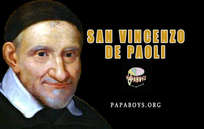 chiedi l'intercessione a San Vincenzo de Paoli