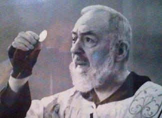 Padre Pio eucarestia