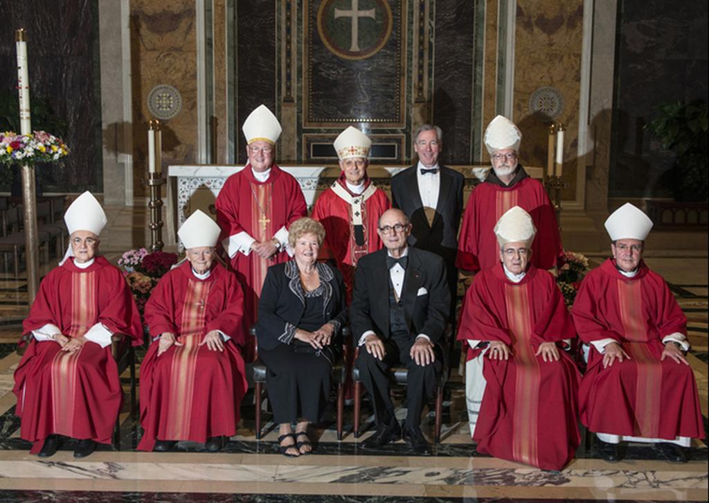 Cardinali e Vescovi americani