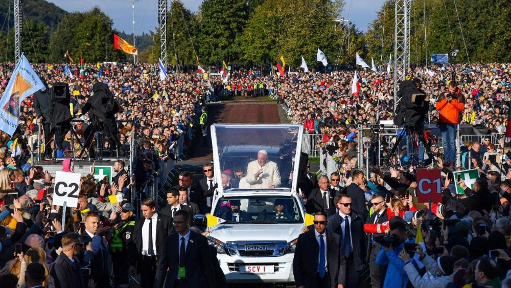 Papa Francesco a Kaunas